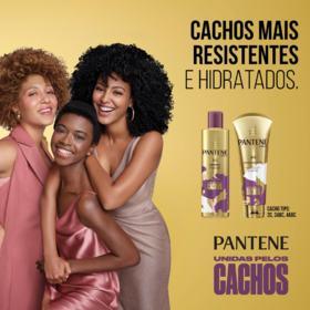 Shampoo Pantene - Unidas pelos Cachos | 270ml