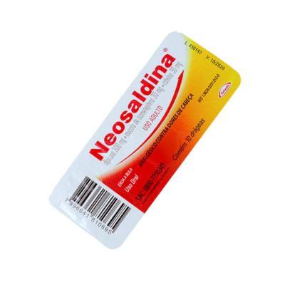 Neosaldina - 10 comprimidos