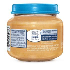 Papinha Nestlé Baby - 8+ meses, legumes com carne   170g