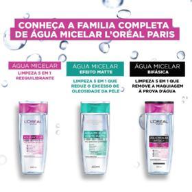Água Micelar L'Oréal Paris - Solução De Limpeza 5 Em 1 | 400ml