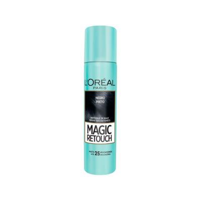 Retoque de Raiz  Spray Instantâneo Magic Retouch - Preto | 75ml