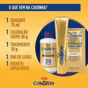 Tintura Niely Cor&Ton - 3.0 Castanho Escuro