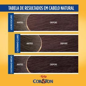 Tintura Niely Cor&Ton - 6.7 Chocolate   50g