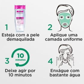 Máscara Facial Argila Pura Detox - Esfoliante | 40g