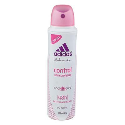 Desodorante Aerosol Antitranspirante Adidas Control - Feminino | 150ml