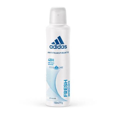 Desodorante Aerosol Antitranspirante Adidas Fresh - Feminino | 150ml