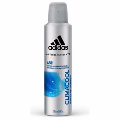Desodorante Aerosol Antitranspirante Adidas Climacool - Masculino   150ml