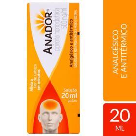 Anador Gotas - 500mg/ml | 20ml