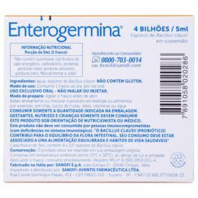 Enterogermina Plus - 5 flaconetes de 5ml