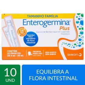 Enterogermina Plus - 10 flaconetes de 5ml