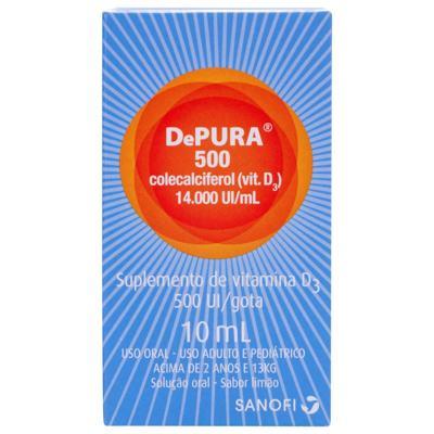 Depura Gotas - 500UI | 10ml