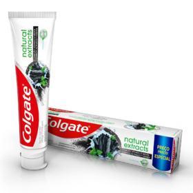 Creme Dental Colgate Natural Extracts - Carvão Ativado | 140g