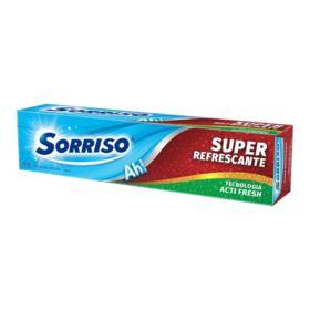 Creme Dental Sorriso - Super Refrescante   90g