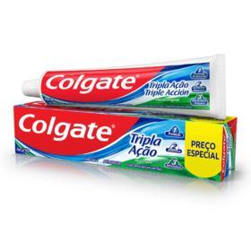 Creme Dental Colgate - Tripla Ação Menta Original | 180g | Preço Especial
