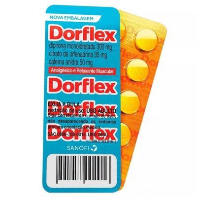 Dorflex - 35mg + 300mg + 50mg   240 comprimidos