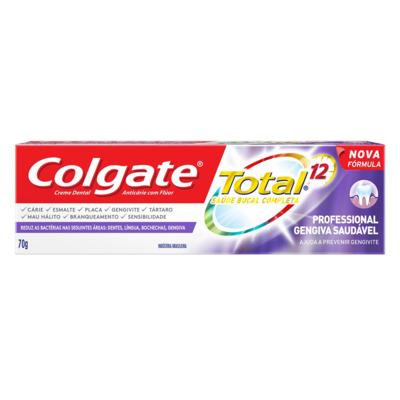 Creme Dental Colgate - Total 12 Professional Gengiva Saudável | 70g