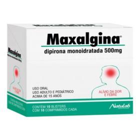 Maxalgina - 500mg | 10 comprimidos