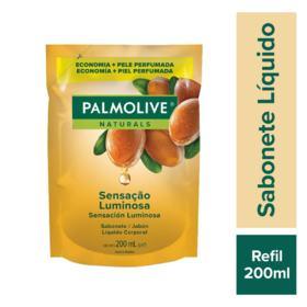 Sabonete Líquido Palmolive Naturals Refil - Sensação Luminosa | 200ml