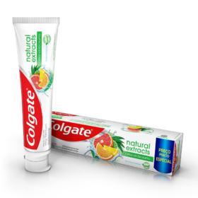 Creme Dental Colgate - Natural Extracts Reinforced Defense | 140g