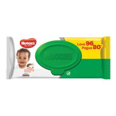 Lenços Umedecidos Huggies Turma da Mônica - Max Clean | 96 unidades