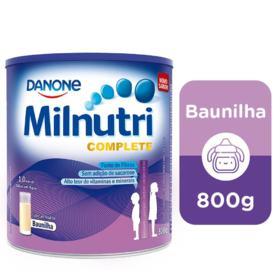 Suplemento Infantil Milnutri Complete - Sabor Baunilha   800g