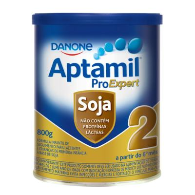 Fórmula Infantil Aptamil ProExpert - Soja 2   800g