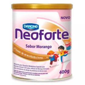 Suplemento Alimentar Neoforte - Sabor Morango   400g