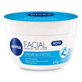 Creme Facial Nivea - Nutritivo | 100g