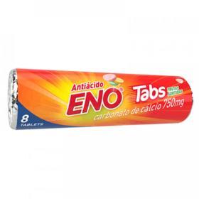 Antiácido Eno Tabs - Frutas Sortidas   8 comprimidos mastigáveis
