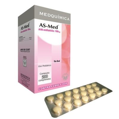 As-Med - 100mg | 100 comprimidos