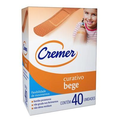 Curativo Cremer - Bege   40 unidades