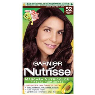 Coloração Garnier Nutrisse Creme - 59 Castanho Claro Acaju Acobreado | 1 unidade