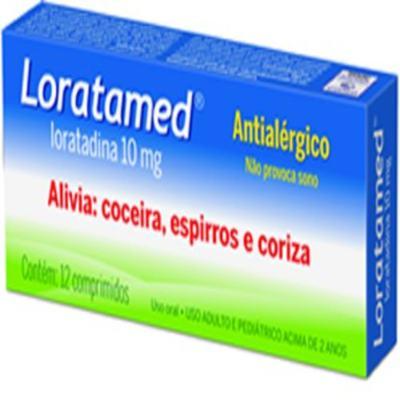 Loratamed - 10mg | 12 comprimidos