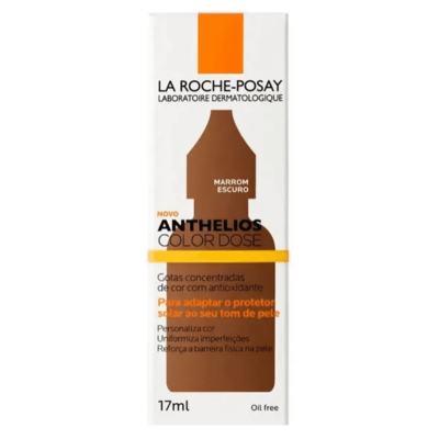 Anthelios Color Dose Pigmento Facial - Marrom Escuro | 17ml