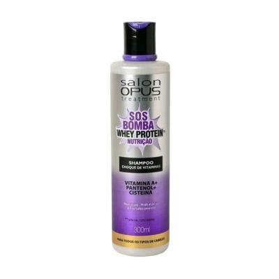 Shampoo Opus Salon Regeneracao Estrutural - Recuperação Intensa | 350ml