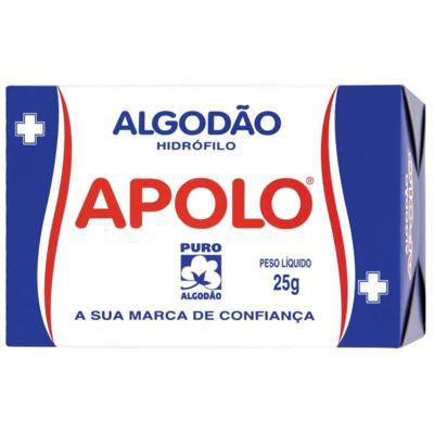 Algodão Apolo - Rolo Hidrófilo | 25g