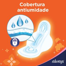 Absorvente Always - Super Proteção Suave com abas | 16 unidades