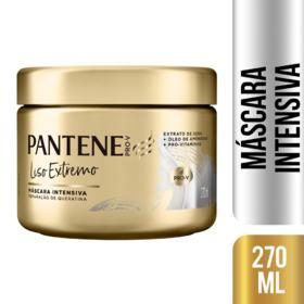 Máscara de Tratamento Pantene - Liso Extremo   270ml