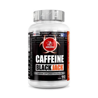 Caffeine Black Jack - sem sabor | 90 cápsulas
