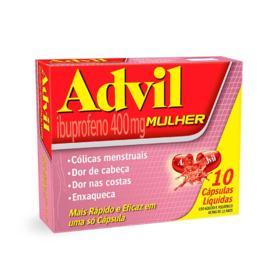 Advil Mulher - 400mg | 10 cápsulas