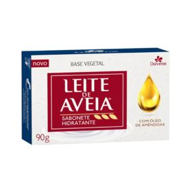 Sabonete Hidratante Davene Leite de Aveia - Óleo de Amêndoas   90G