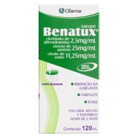Benatux Xarope - 120ml   + Copo medidor