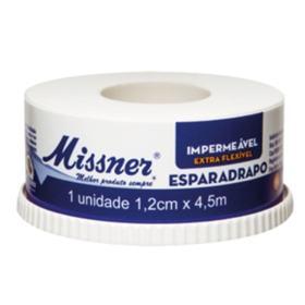 Esparadrapo Impermeável Missner - Branco | 1.2cm X 4.5m