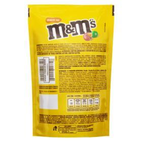 Confeito de Chocolate M&M's - Chocolate ao Leite com Amendoim | Sachê 148g