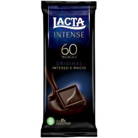 Lacta Chocolate Intense - 60% Original | 85g