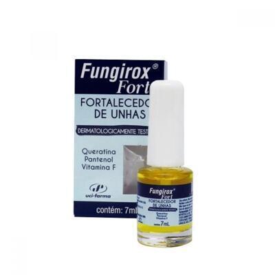 Fungirox Esmalte Para As Unhas + Removedor De Esmalte - + 24 Lixas