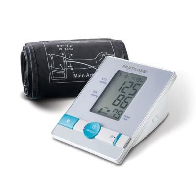 Multilaser Monitor De Pressão Arterial - Branco - HC076   1 unidade