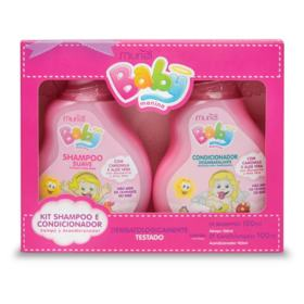 Kit Baby Muriel - Menina | 1 Kit | Shampoo e Condicionador 100mL