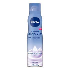 Hidratante Corporal Nivea Soft Milk - Mousse   200ml