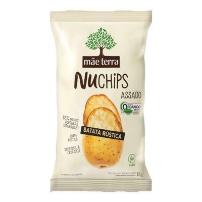 Chips Assado Batata Rústica Mãe Terra - NuChips | 32g